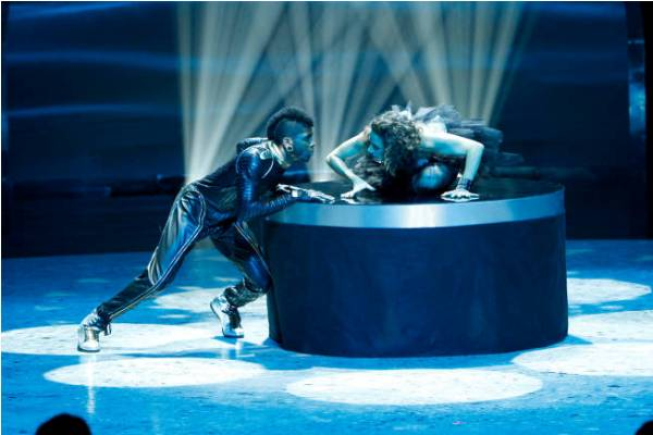 Cyrus and Eliana dance on SYTYCD SEason 9 Top 16