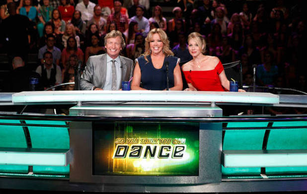 Christina Applegate judging SYTYCD season 9 Top 16