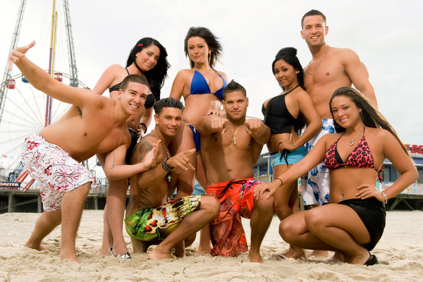 The Jersey Shore cast understands living the American Dream.