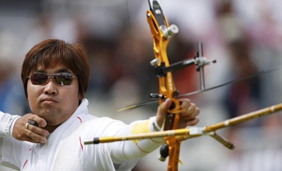 Archery fail in the 2012 London Olympics