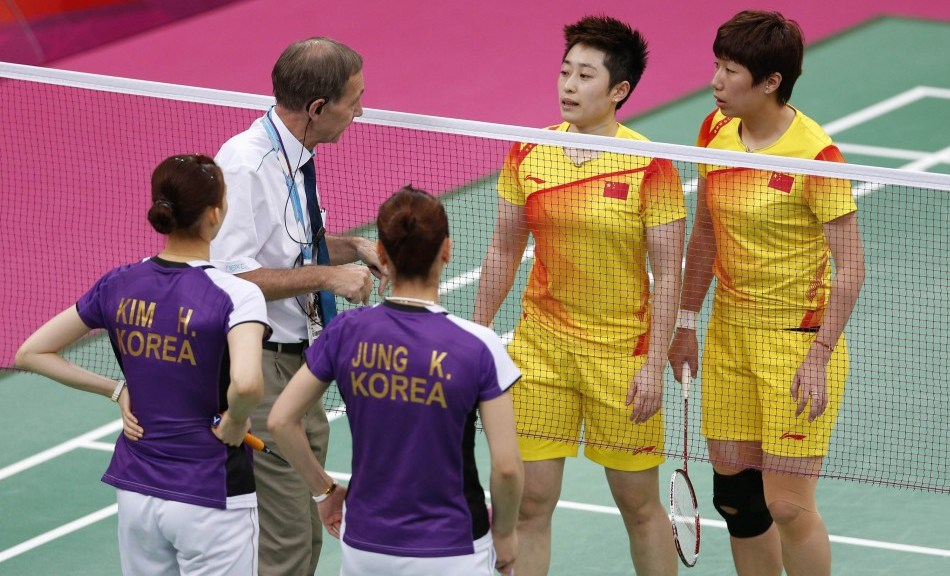 Badminton FAIL at the London Olympics