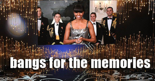 Michelle Obama announces the Best Picture.
