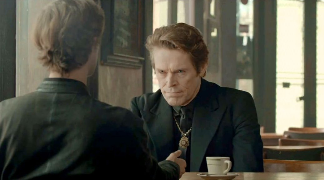 "Willem Dafoe appears to be wearing a freemason ring for his superbowl ad ""Soul"" for Mercedes Benz."