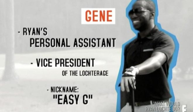Gene is vice president of the Lochterage and nicknamed Easy G on WWRLD.