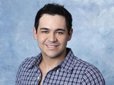 Diogo on the Bachelorette.