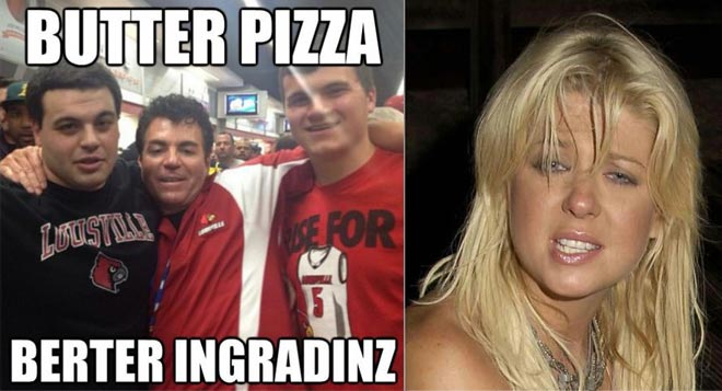 Devon Lochte brags about seeing the Papa Johns guy and Tara Reid in Hollywood on WWRLD.