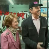 Richard and Beverly Pink introduce the Lochte Dog at Pink's on WWRLD.