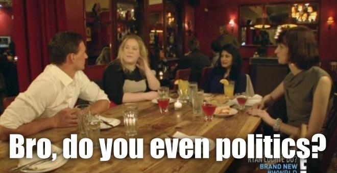 Ryan Lochte talks politics with some girls in Washington, D.C. on WWRLD.