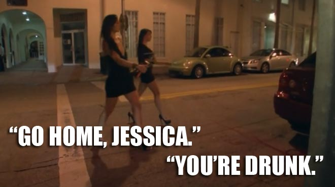 Jessica and her friend leave the club after partying with the Lochterage and ryan lochte.