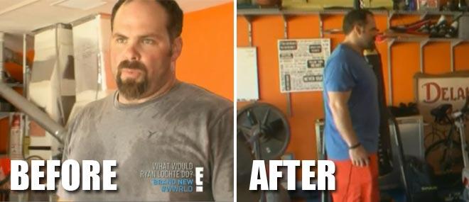 Matt DeLancey is Ryan Lochte's strength training coach on What Would ryan lochte do?