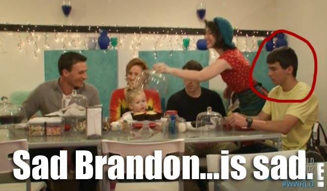 Brandon Lochte at cupcakes with Ryan, Devon, Megan, Ike and Kristin on what would ryan lochte do?