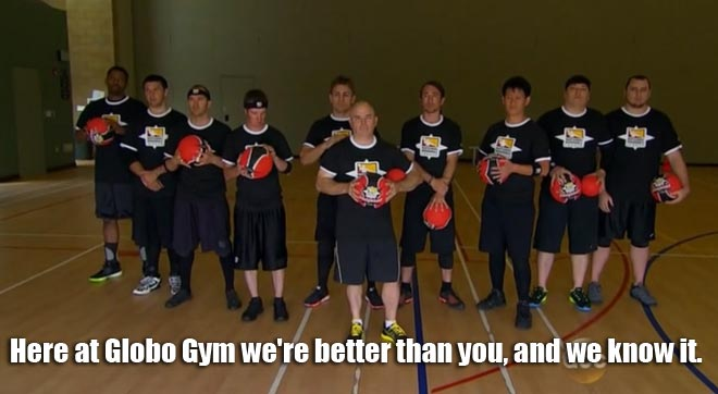 the national dodge ball team appears on the bachelorette with desiree.