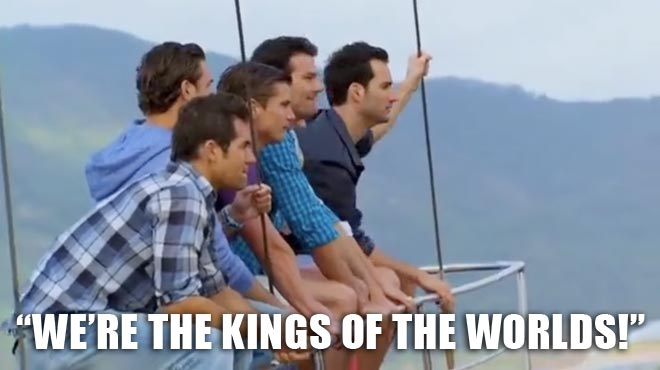The Bachelors and Desiree arrive in Madeira Island, Portugal on the BAchelorette.