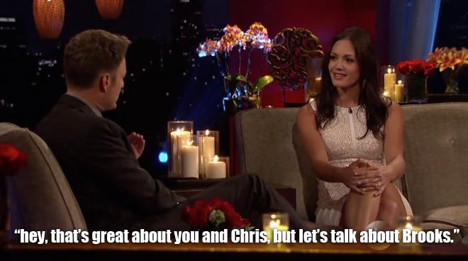 Chris Harrison Interviews Desiree After The Final Rose On Bachelorette