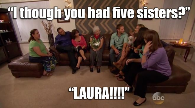 The Bachelor Juan Pablo meets Clare's family.