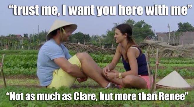 Bachelor Juan Pablo reassures Andi.