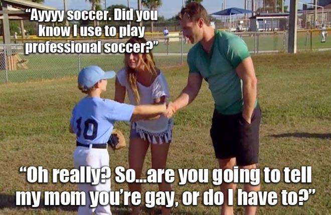 Renee's son, Ben, meets Bachelor Juan Pablo.