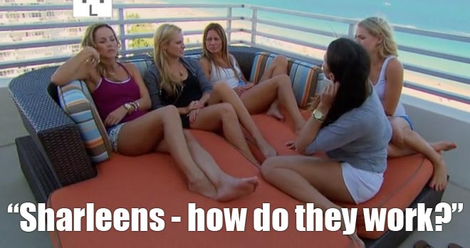 Nikki, Clare, Andi, Renee and Chelsie sit and talk about Sharleen and Bachelor Juan Pablo's relationship.