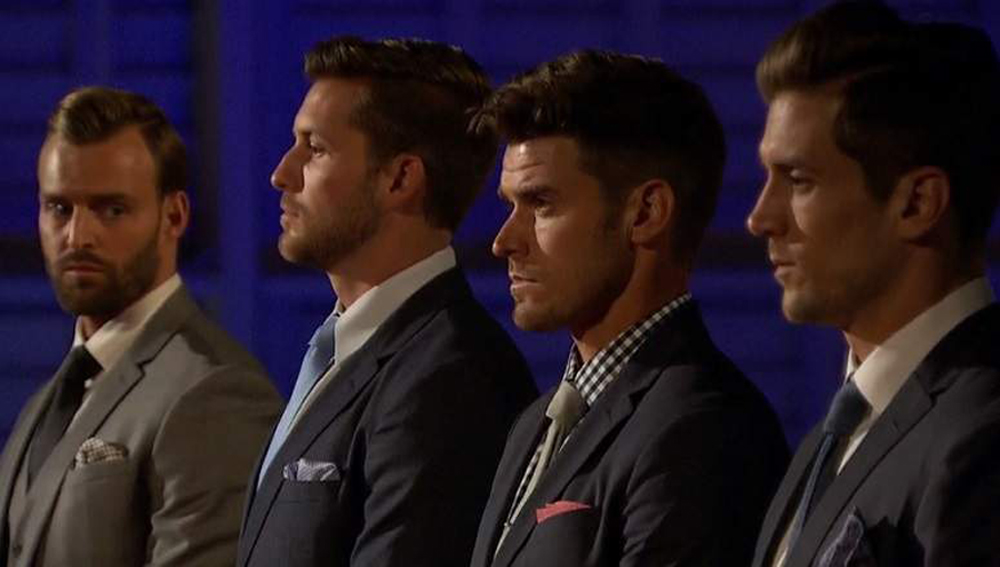 The Bachelorette JoJo picks her final four of Chase, Robby, Jordan and Luke.