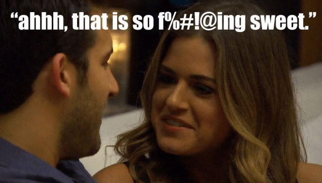 Derek and JoJo talk about their relationship on the Bachelorette.