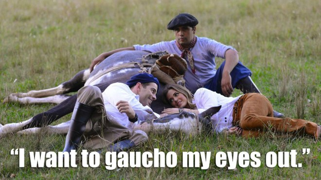 Alex and JoJo share a kiss on the neck of a horse on the bachelorette.