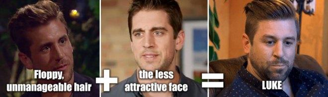 Luke looks like his brother Jordan on the Bachelorette.