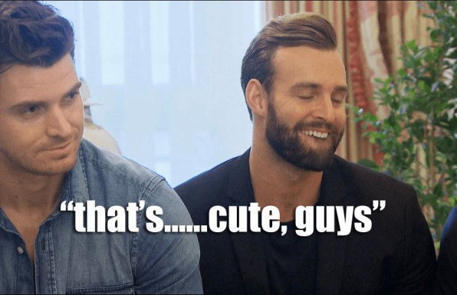 Robby can't believe Wells hasn't kissed JoJo yet on the Bachelorette.