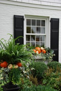 Outdoor Fall Decor Inspiration {from PPT} - Hello Lovely