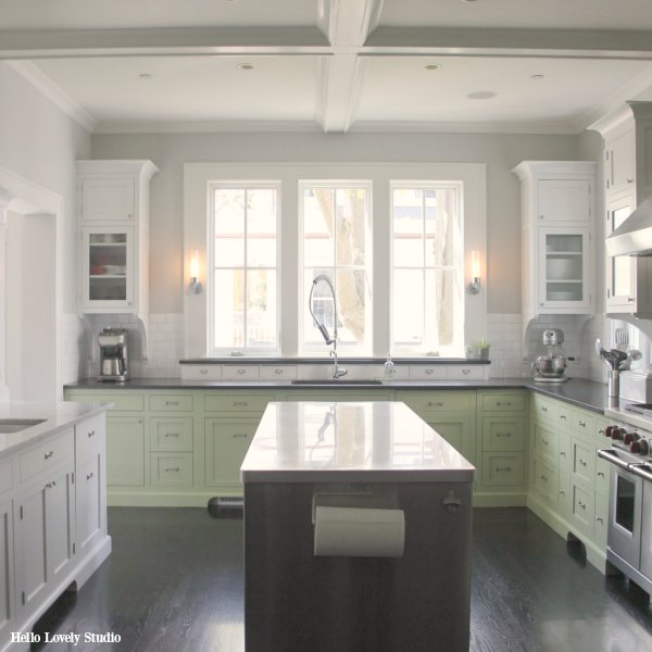 Industrial Chic Farmhouse Kitchen Inspiration Hello Lovely