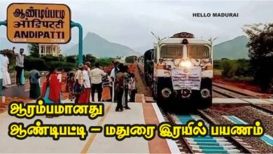 Preview of the Madurai train journey from Andipatti