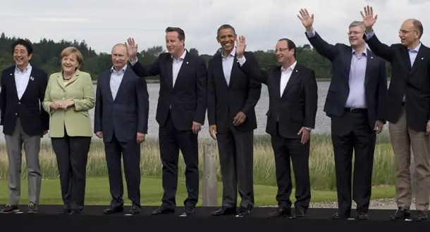 Image result for photos of the G8 WITH PUTIN