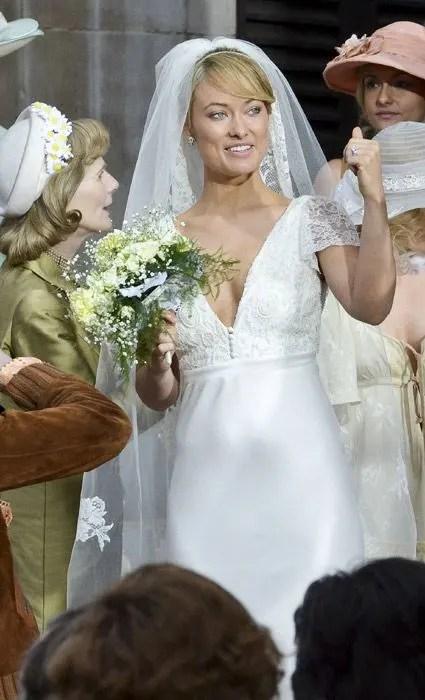 Olivia Wilde and Chris Hemsworth film scenes for Rush  Photo 5