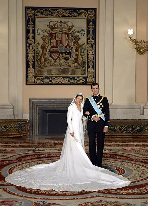 Prince Felipe and Princess Letizias wedding  Photo 9