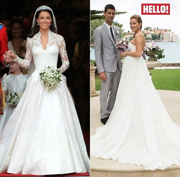 Amal Alamuddin: Alexander McQueen brides