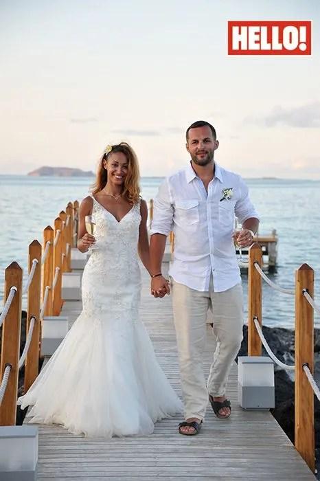 Amelle Berrabah and Marcio Sousa Rosas wedding photos