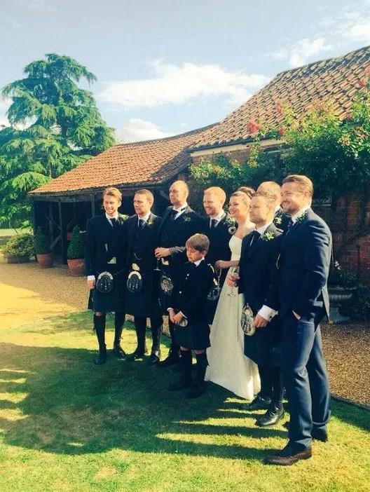 Hollyoaks Star Sophie Austin Marries Graeme Rooney Photo 2