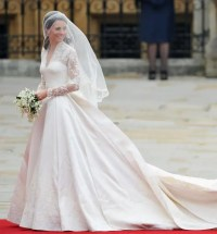 Kate Middleton's wedding dress maker talks creating the gown