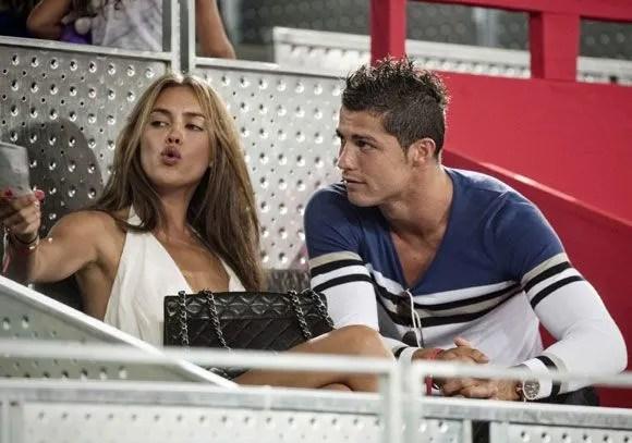 Cristiano Ronaldos Girlfriend Irina Shops For Valentines