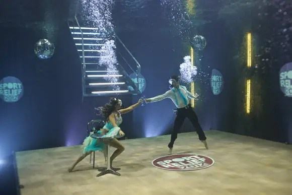 Strictly Come Dancing stars Chelsee and Harry make waves dancing underwater  Photo 4