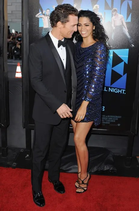 Matthew McConaughey and Camila Alves make first public appearance as married couple  HELLO