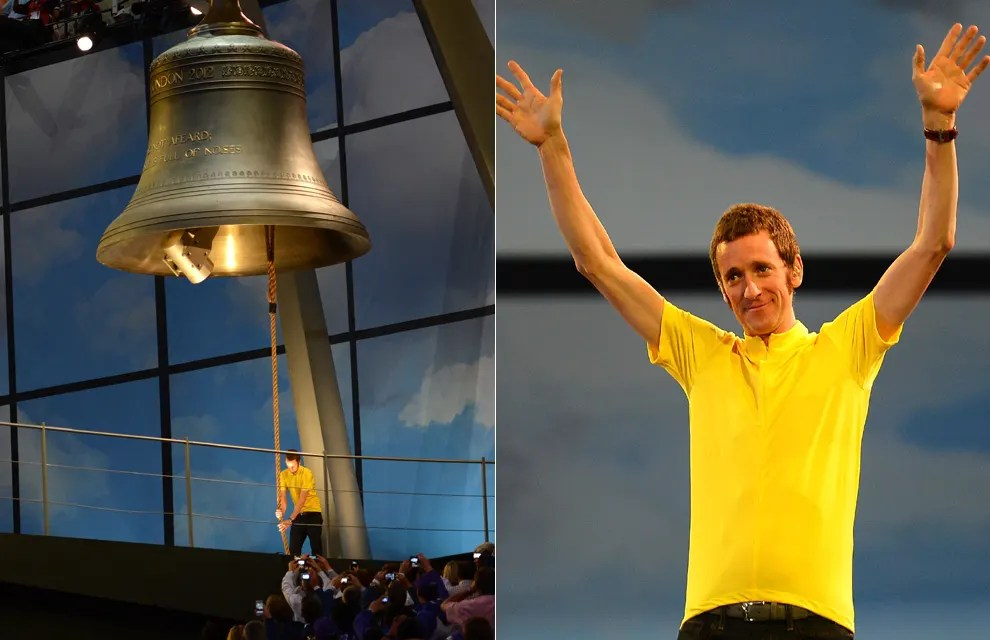 Bradley Wiggins and his ding dong!