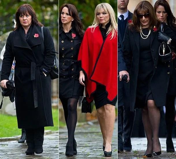 Lynda Bellinghams Funeral Takes Place