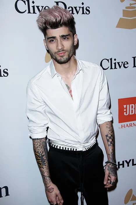Zayn Malik Debuts New Tattoo On His Face