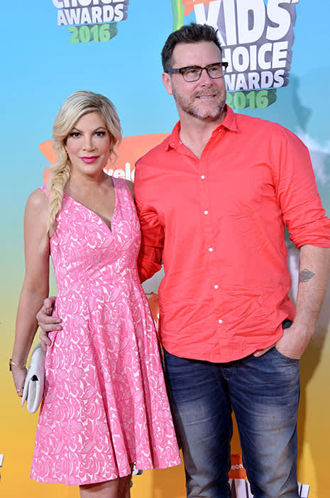 Tori Spelling and husband Dean McDermott announce theyre
