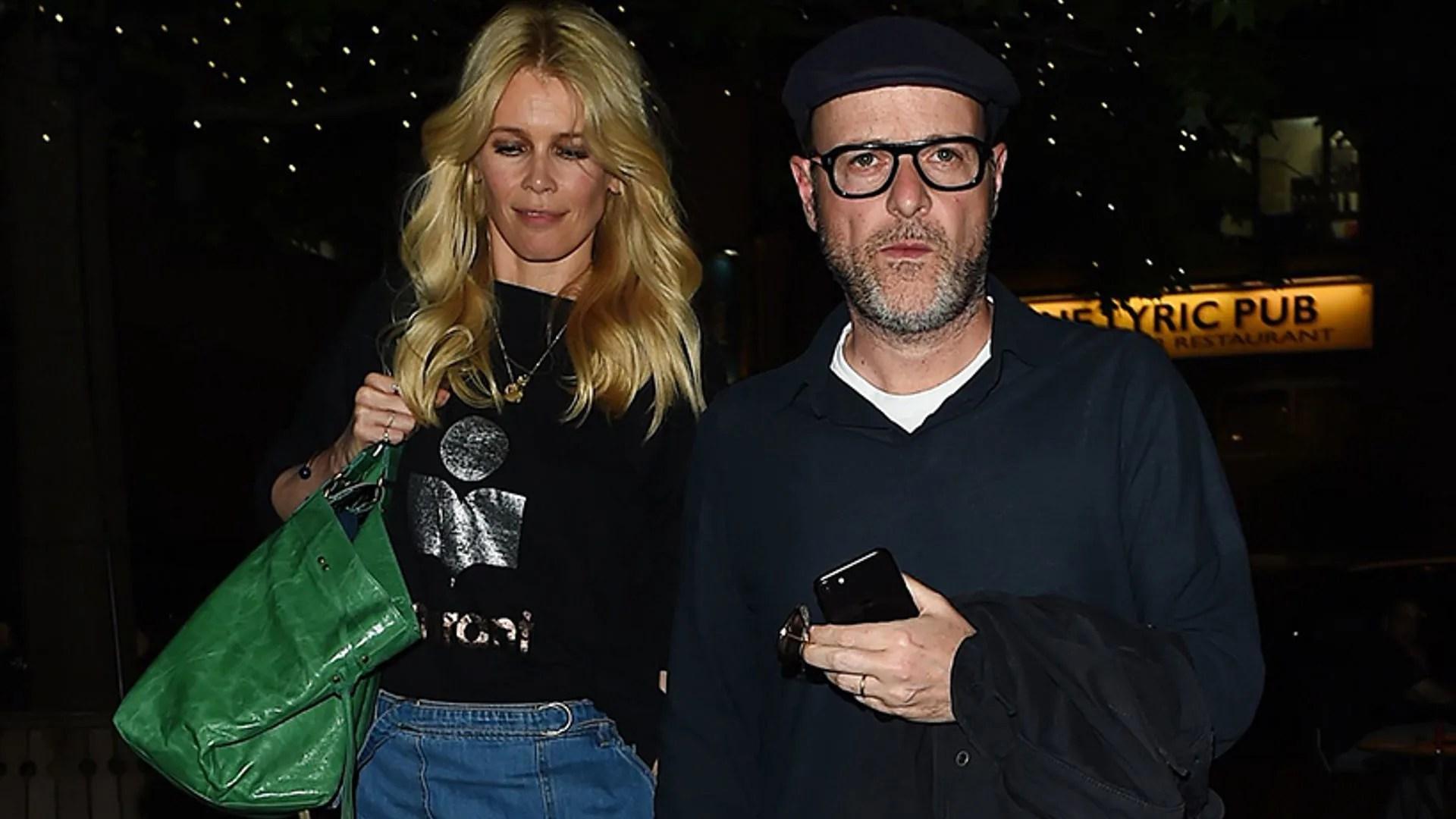 Claudia Schiffer And Husband Matthew Vaughn Enjoy Rare