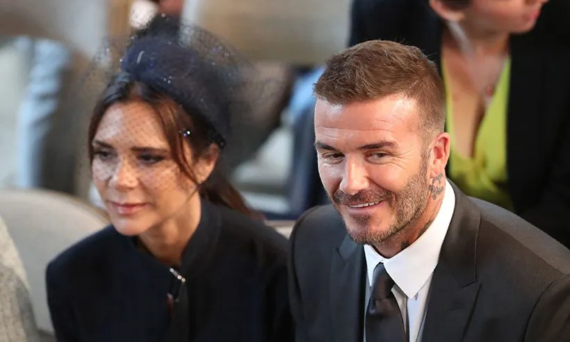 ALL The Times Victoria Beckham Smiled At The Royal Wedding