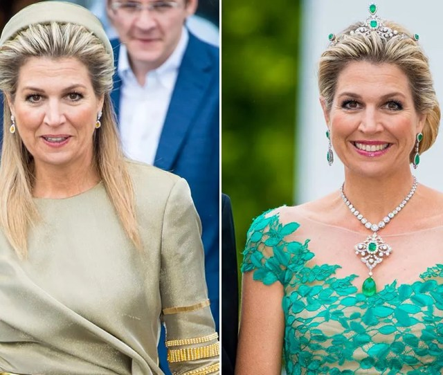 Celebrity Daily Edit Maximum Glamour For Queen Maxima Amy Williams New Baby Video