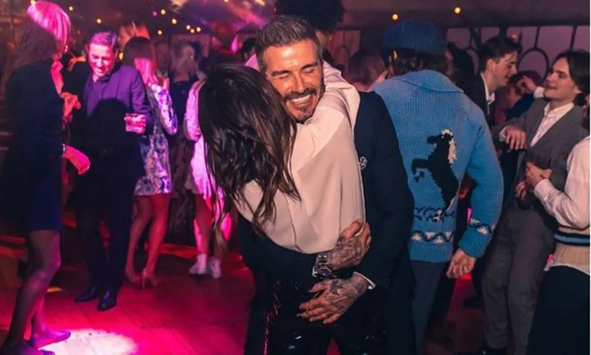 Victoria Beckham and David Beckham look incredibly loved-up at Brooklyn's  21st birthday | HELLO!