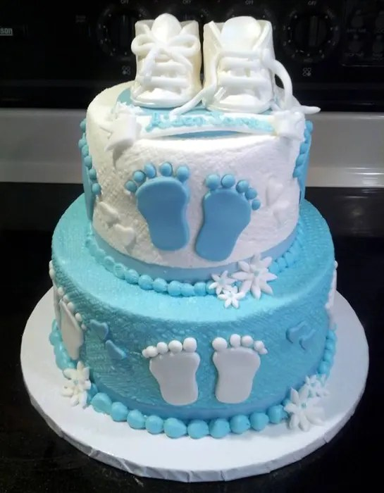Celebration cakes for a new baby  Photo 8