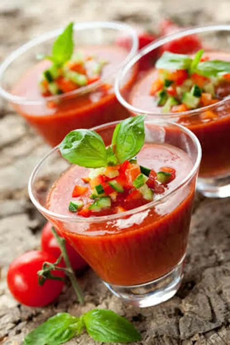 Celia Brooks Spanish Gazpacho Recipe